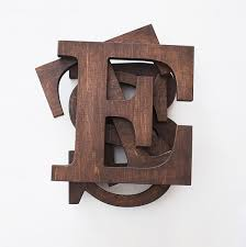 wooden letters home decor wooden letter rustic letters brown letters wooden wall