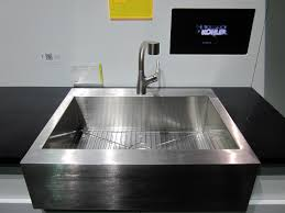 kohler kitchen sinks and washing with a square shape house
