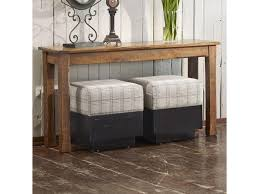 Sofa Table With Stools Canadel Chlain Customizable Rectangular Sofa Table Darvin