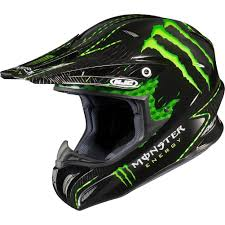 motocross closeout gear monster energy drink officially licensed hjc nate adams men u0027s rpha