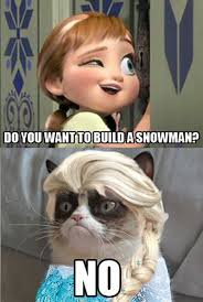 Disney Frozen Meme - top 40 funny grumpy cat pictures and quotes funny parenting memes