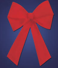 outdoor bows commercial decorations