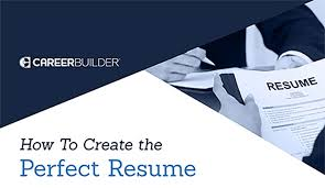 guide to create resume guide how to create the resume careerbuilder