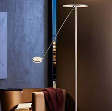 contemporary torchiere floor lamps with shelf the most beautiful