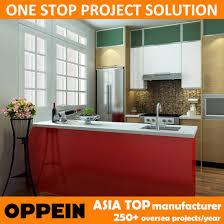 wooden kitchen furniture china oppein usa project fashion pvc wooden kitchen furniture