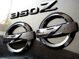 Nissan 350z Accessories - super black u0027z u0027 emblem set front and rear with 350z lettering