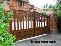 Backyard Gate Ideas Choice Of Gate Designs For Private House And Garage Interior