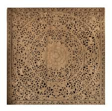 carved wood wall large grand carved wooden wall or ceiling panel siam sawadee