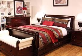 Master Bedroom Suite Furniture Antoinette 4 Mahogany Bedroom Suite