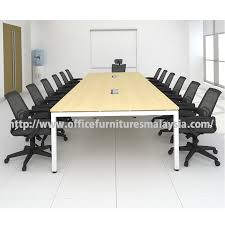 12 ft conference table modern office meeting table desk online price malaysia selangor