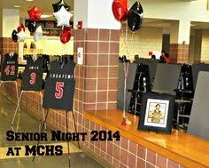 Football Banquet Centerpiece Ideas by Love This Idea For Senior Night Baseball Love