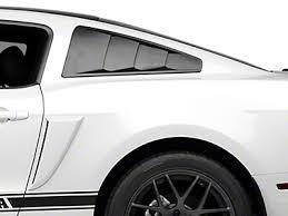 2010 Mustang Black Mustang Racing Stripes Lemans Stripes Americanmuscle