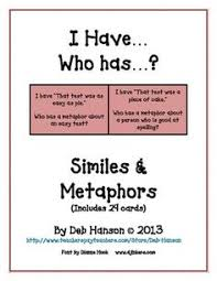 which is it metaphor or simile simile figurative and worksheets