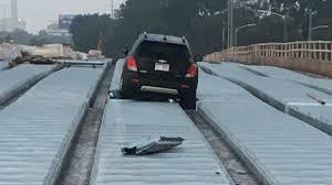 crashed my car into a bridge the best bridge 2017