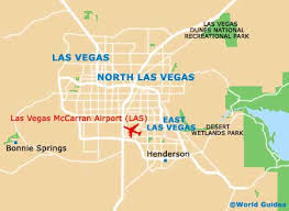 map us las vegas map of las vegas mccarran airport las orientation and maps for