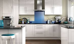 White Gloss Kitchen Ideas Wickes Atlanta White Provides A Modern Take On The Traditional