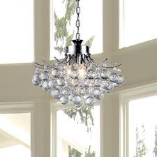 Upside Down Crystal Chandelier Warehouse Of Tiffany Boadicea 3 Light Crystal Chandelier U0026 Reviews