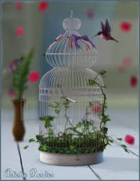 Shabby Chic Bird Cages by Shabby Chic Bird Cage 3d Models And 3d Software By Daz 3d