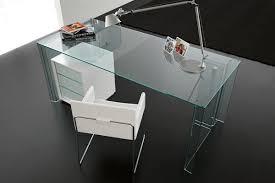 Glass Office Desk Home Office Desk Luminare Scrivania By Fiam Italia Kars4kids