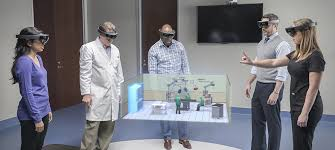 Microsoft HoloLens   Official Site A team from Stryker uses HoloLens to design an operating room