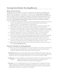 Resume Best Sample by Good Teacher Resume Examples