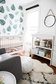 nursery wall decals for gorgeous baby room ideas in modern home