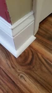 How To Trim Laminate Flooring Laminate Quarter Round And Base Trim Restoration
