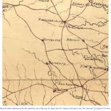 Map Of Texas Hill Country Maps In History U2013 Hill Country Archeological Association