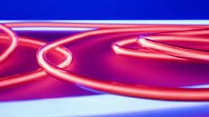 neon green light energy motion background videoblocks
