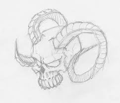 free simple skull drawing free clip free clip on