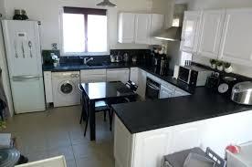 cuisine noir et jaune cuisine noir et blanc decoration cuisine s cuisine noir blanc jaune