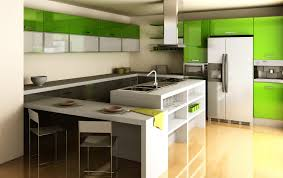 modern kitchen storage ideas decorating glossy wooden flooring in modern kitchen design with