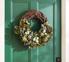 Easter Decorations Pottery Barn by 55 Best Pretty Wreaths Welcome To My Home Images On Pinterest
