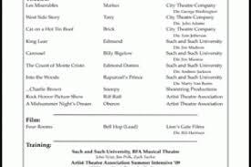 Sample Beginner Acting Resume by Resume Templates For Beginners Beginner Acting Resume Sample