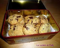 recette de cuisine cookies recette de cookies à l huile de coco et pépites de chocolat
