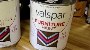 valspar furniture paint review no sanding youtube