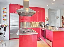 Led Backsplash by Kitchen 22 Charming Design Of Contemporaneous Pink Kitchen