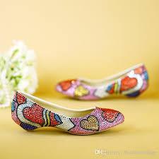 wedding shoes brisbane princess luxury 2018 new colorful bridal shoes rhinestones beading