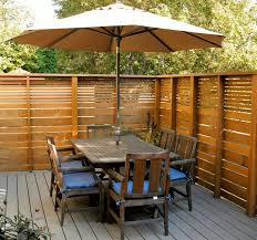 modern privacy fence ideas for your outdoor space