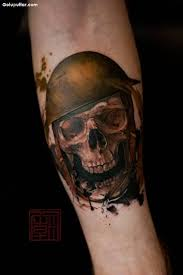 sleeve decorated with cool army skull photos and ideas