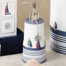 Seaside Themed Bathroom Accessories Nautical Bathroom Accessories Asianfashion Us