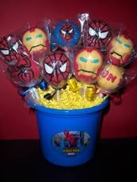 spiderman cake pops superhero birthday ideas pinterest cake
