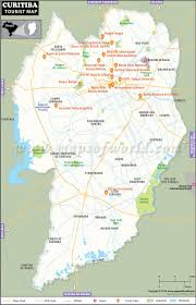 Pennsylvania Attractions Map by Curitiba Travel Information Location Travel Map Places To