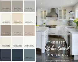 what wall color looks with grey cabinets popular kitchen cabinet paint colors west magnolia charm