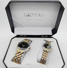 his and hers items geneva classic collection his and hers gold tone set ebay