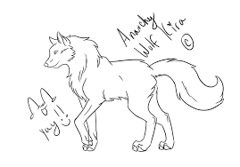 how to draw a wolf video by anarchywolfkira on deviantart