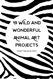 moo arf 19 wild and wonderful animal art projects art for kids