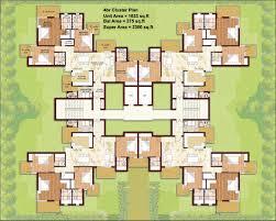 cluster home floor plans cluster house floor plan cluster house floor plan 1 bhk floor plan