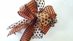 how to make a bow diy bow dollar tree ribbon