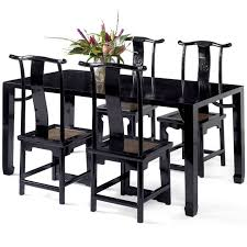 Black Lacquer Dining Room Furniture Black Lacquer Dining Table Chinese Table Oriental Dining